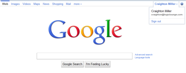 Google's New Toolbar Rolls Out - LogicLounge