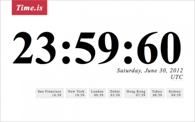 """Leap Second"" Bug Causes Trouble To The Internet"