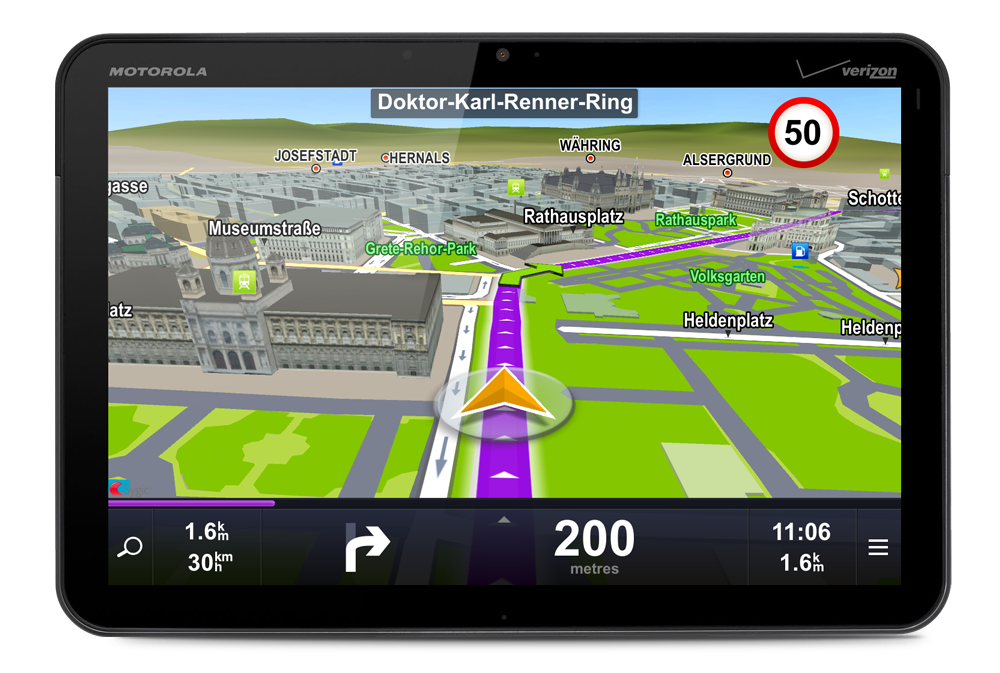 Best Offline Turn-By-Turn GPS App For Android - LogicLounge