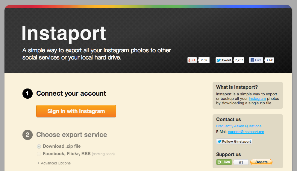 How To Backup Your Instagram Photos - LogicLounge