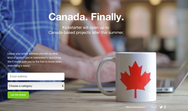 Kickstarter To Allow Canadian Based Projects Logiclounge
